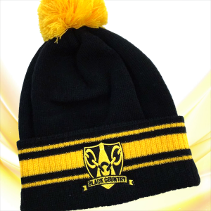 Black Gold Black Country Beanie