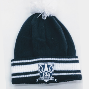 Navy White Stadium Beanie