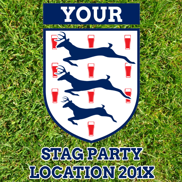England Football Stag Party