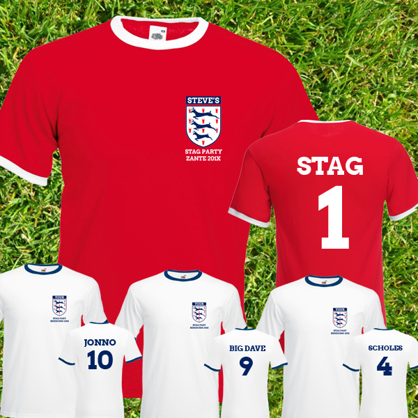 England Stag Tees