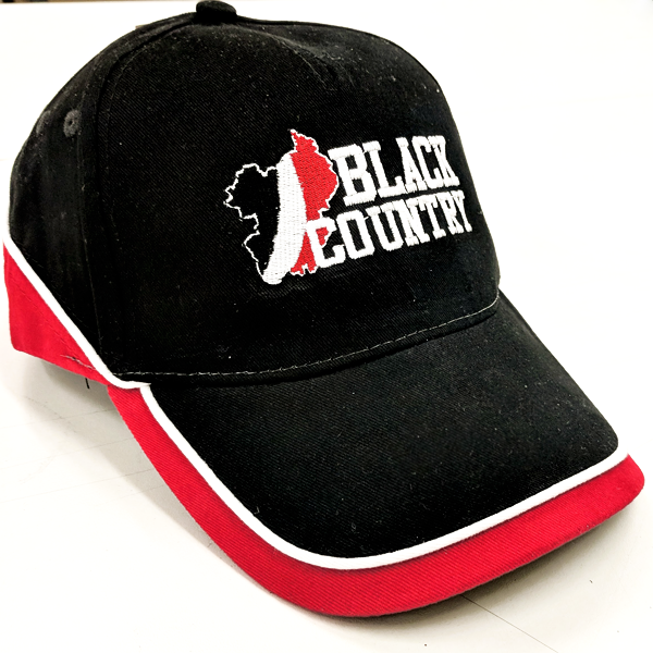 Black Country Map Cap