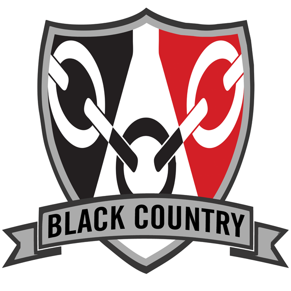 Black Country Shield Sticker