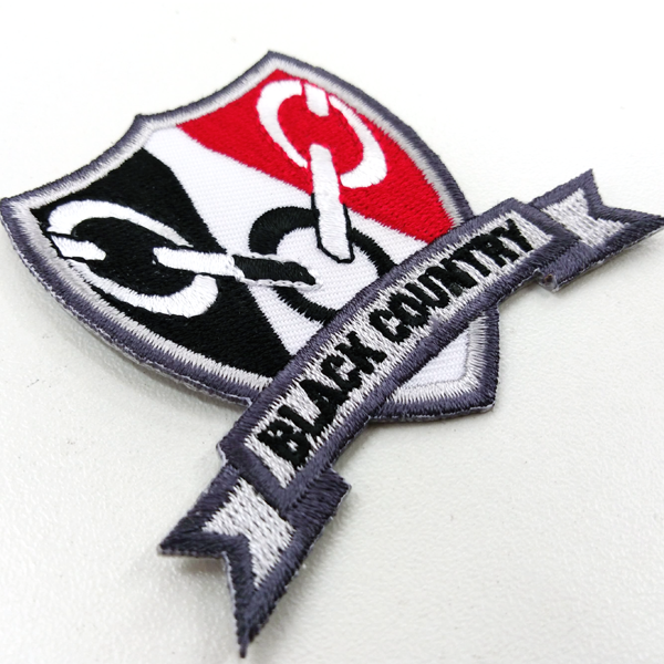 Black Country Shield Patch