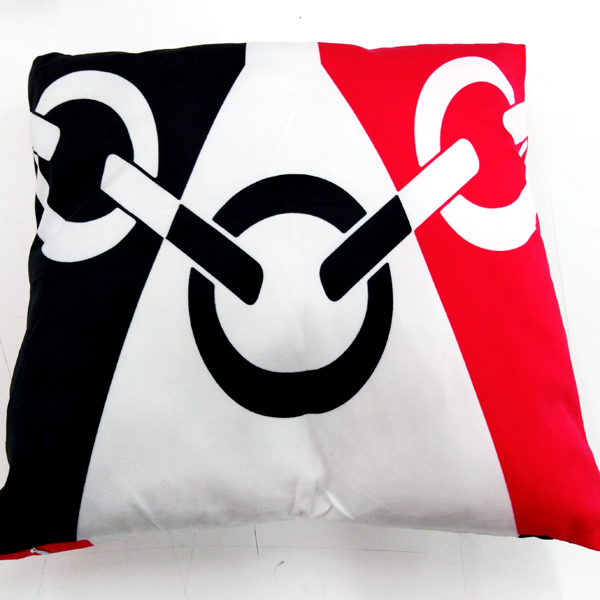 Black Country Sofa Cushion