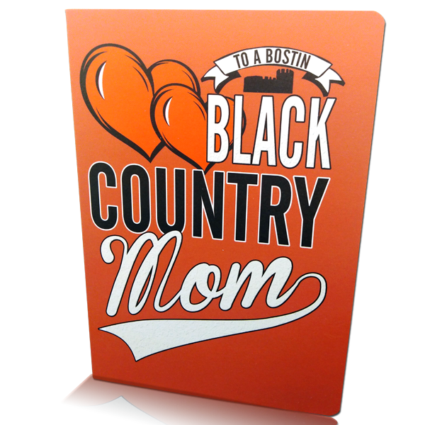 Black Country Mom Greetings Card