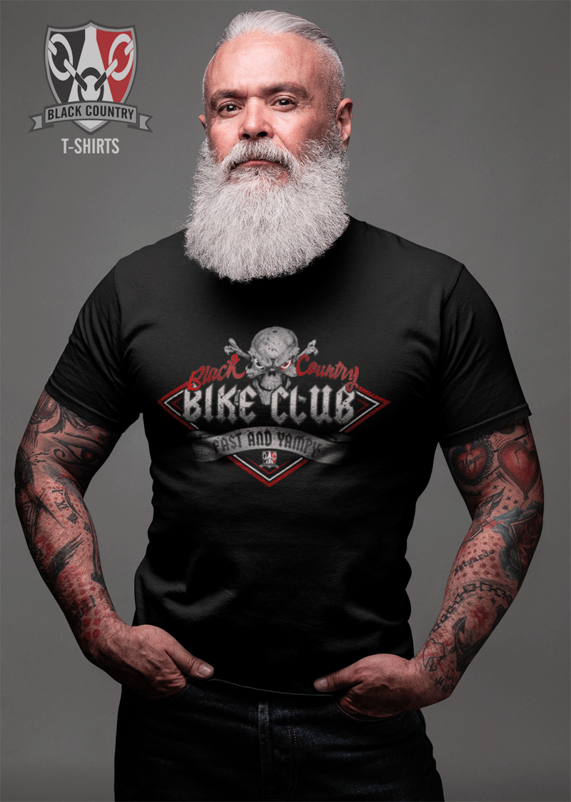 Black CountryBike Club T Shirt