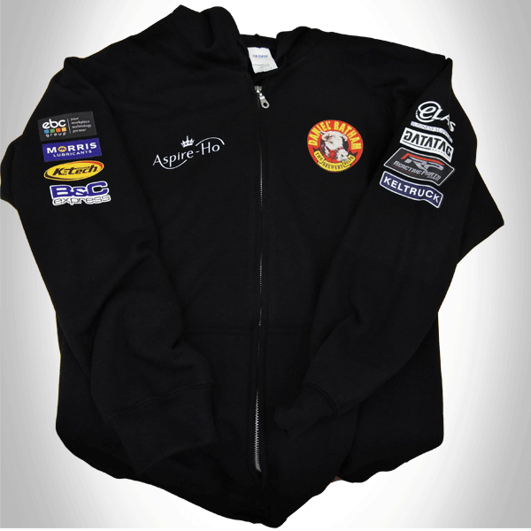 Bathams Racing Zip Hoodie