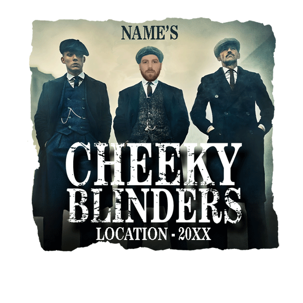 PEAKY BLINDERS STYLE CHEEKY STAG T SHIRTS