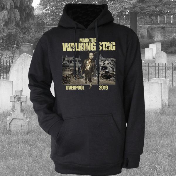 WALKING DEAD PARODY STAG HOODIE