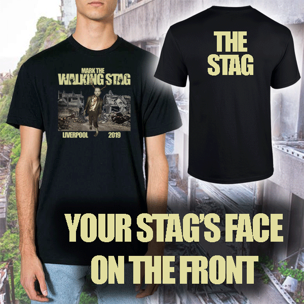 WALKING DEAD PARODY T SHIRT