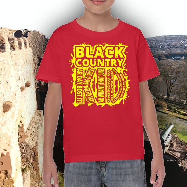 Kids t shirt of the Black Country