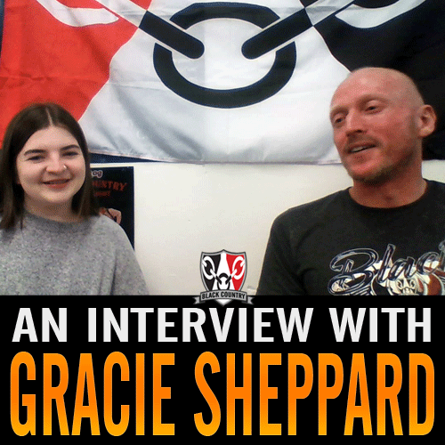 Gracie Sheppard talks about the black country flag
