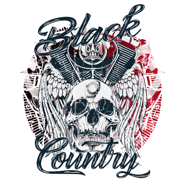 Black Country Skull & Pistons
