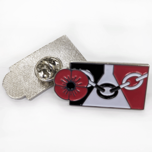 Black Country Poppy Badge