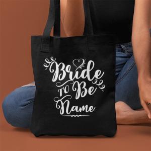 Personalised Bride To Be Bag