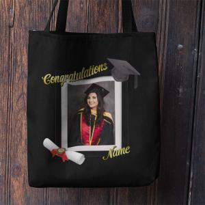 Graduation Photo Tote Bag