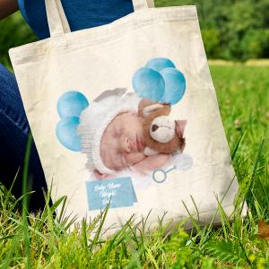 Personalised-baby-tote-bag