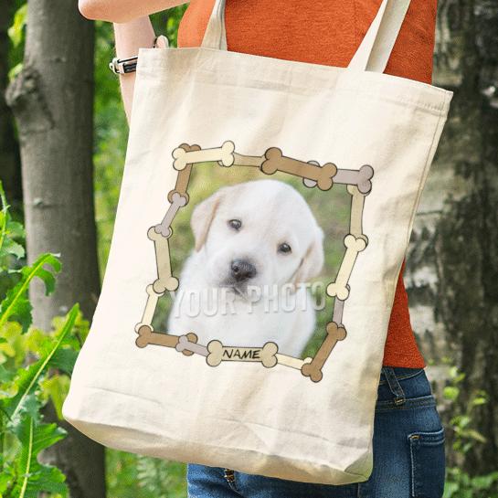 Personalised Dog Photo Bag